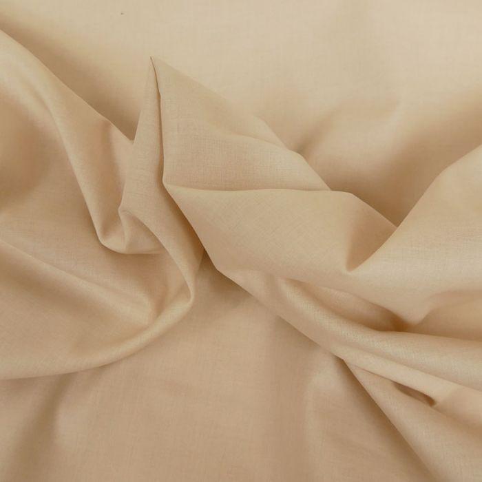 Tissu voile de coton uni - peau x 10 cm