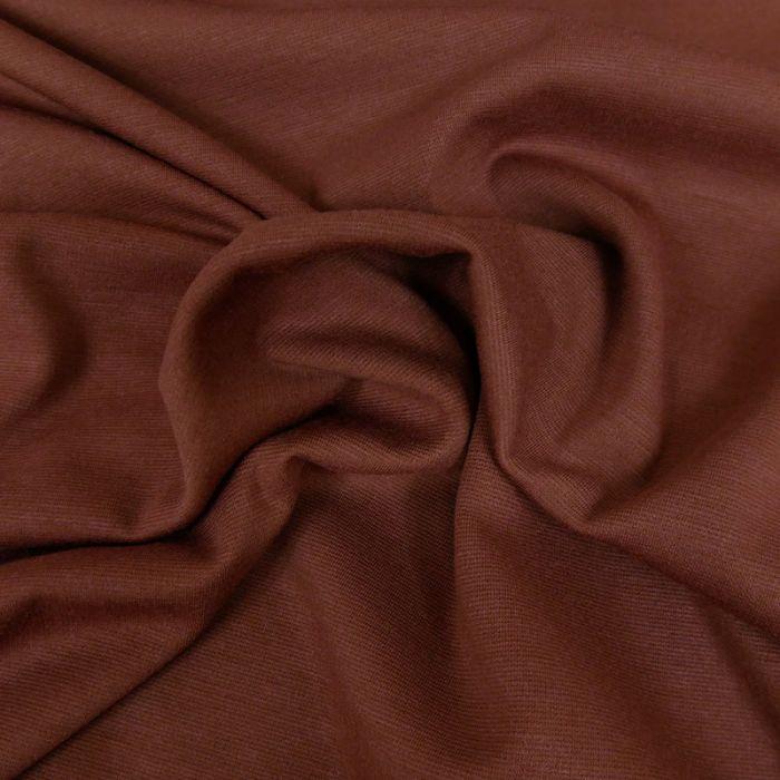 Tissu jersey punto stretch - Terra x 10 cm