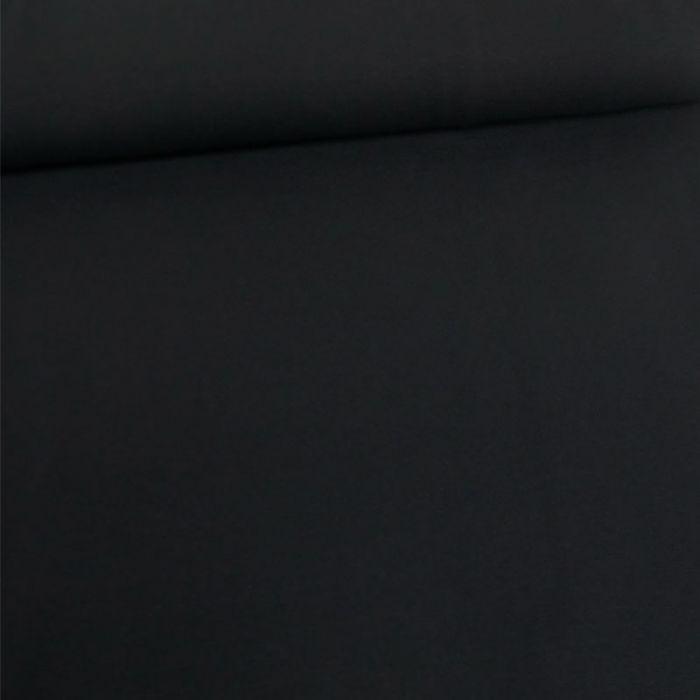 Tissu jersey coton uni - marine foncé x 10cm