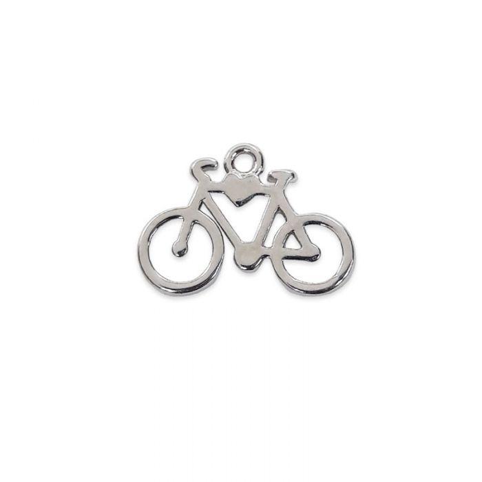 Breloque vélo en acier x1