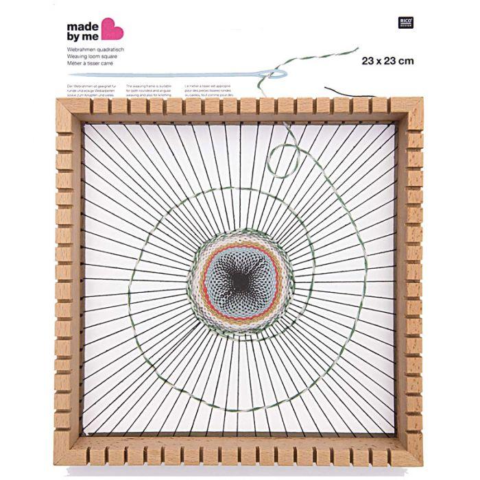 Métier à tisser carré 23 cm - Rico Design