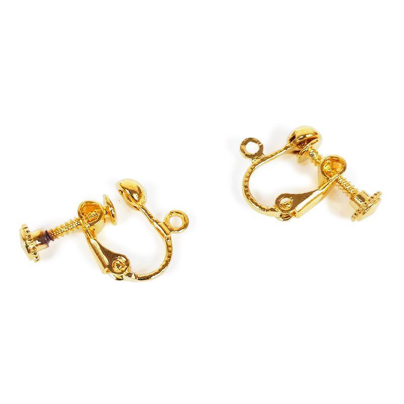 paquet à la mode et attrayant frais frais marques reconnues Boucles d'oreilles clips à vis - Atelier de la Création