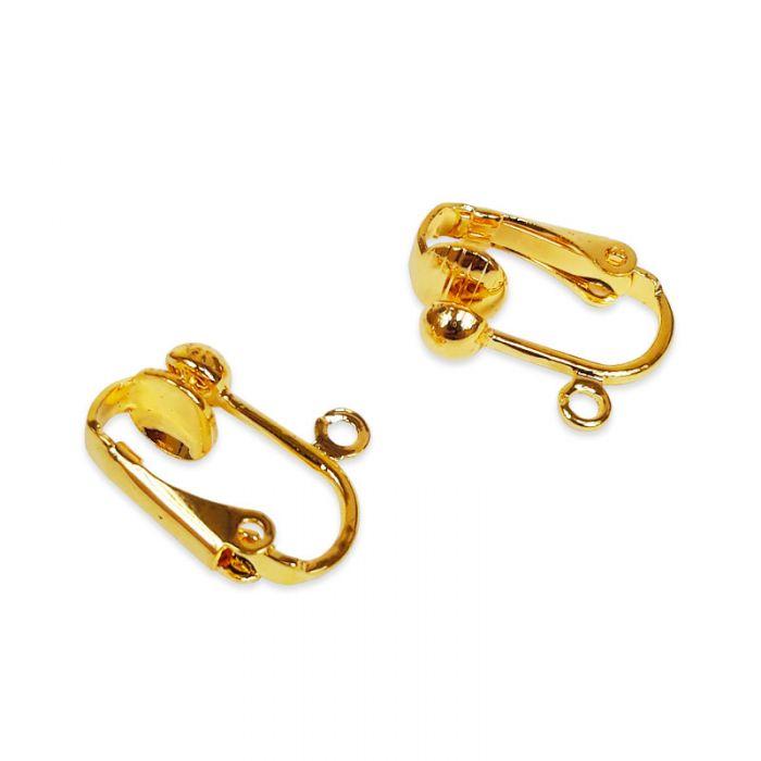 Boucles d'oreilles clips x 2