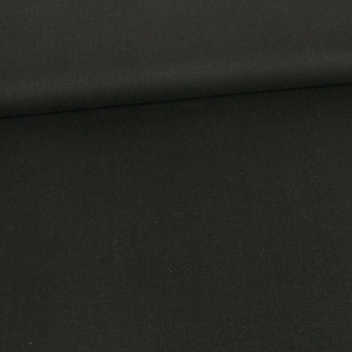 Tissu denim élasthanne - encre x 10 cm