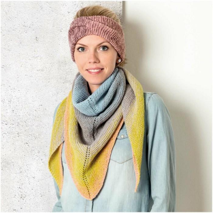 vente pas cher invaincu x 50-70% de réduction Kits Tricot Accessoires chales snood au tricot - Atelier de ...