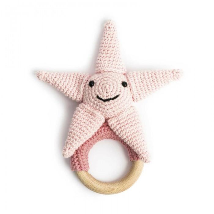 Kit crochet anneau de dentition Ricorumi - étoile