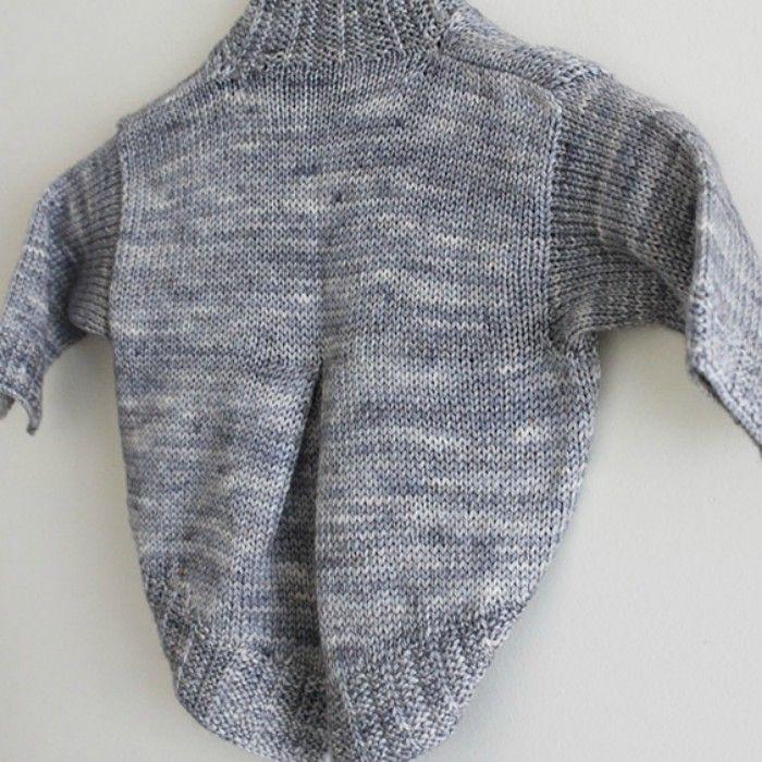 Petite fille modèle - fiche tricot Lili comme tout