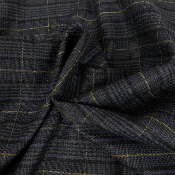 tissu prince de galles bleu atelier de la cr ation. Black Bedroom Furniture Sets. Home Design Ideas