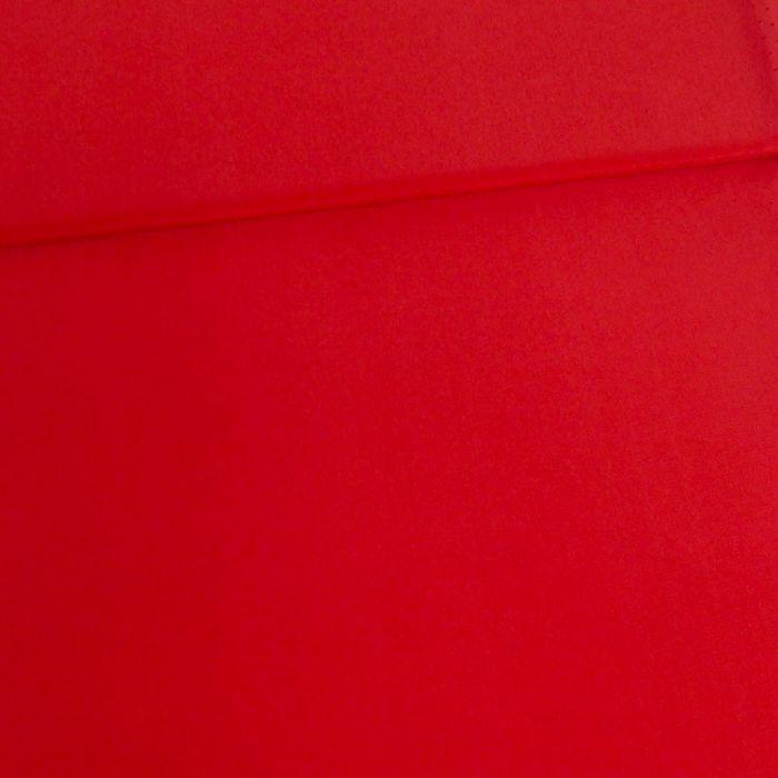Tissu soie fluide - rouge x 10 cm