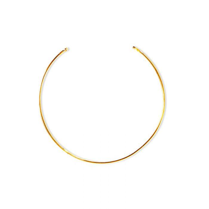 Bracelet jonc 2 anneaux x 1