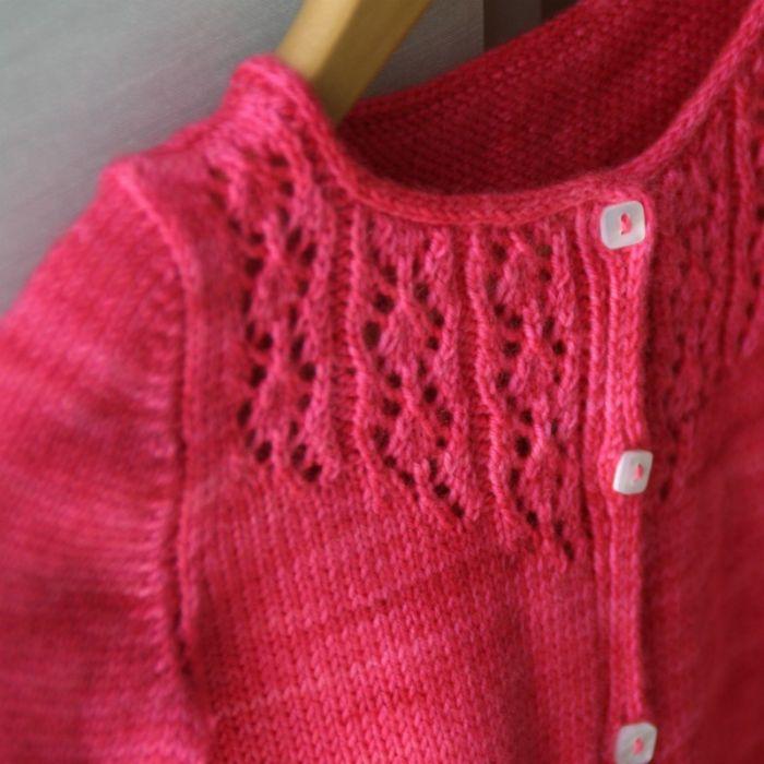 Little Trellis - fiche tricot Lili comme tout