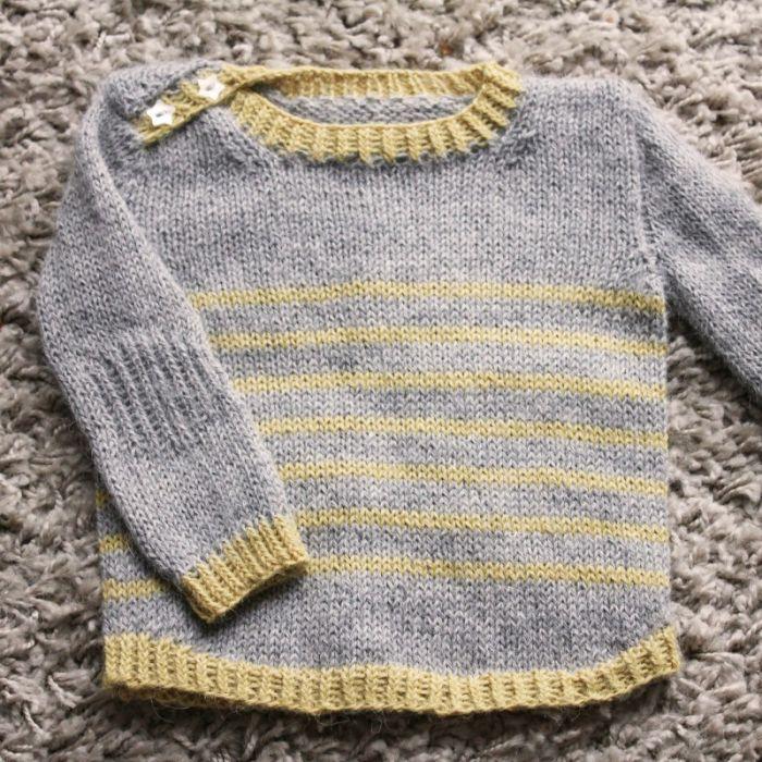 Tout petit large - fiche tricot Lili comme tout