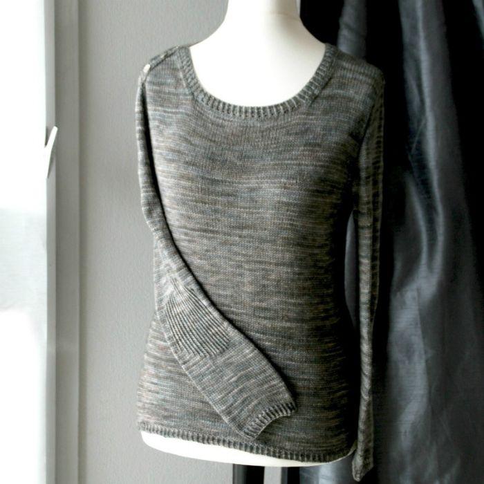 Grand Large - fiche tricot Lili comme tout