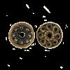 Pendentif calotte 4mm cuivre