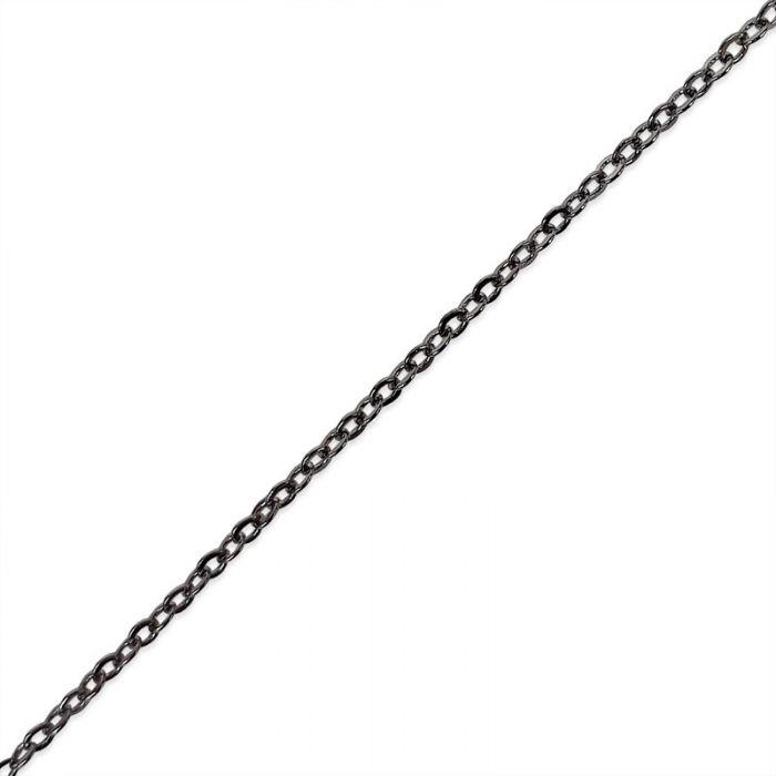 Chaîne maille forçat 1,7*2 mm x 10 cm