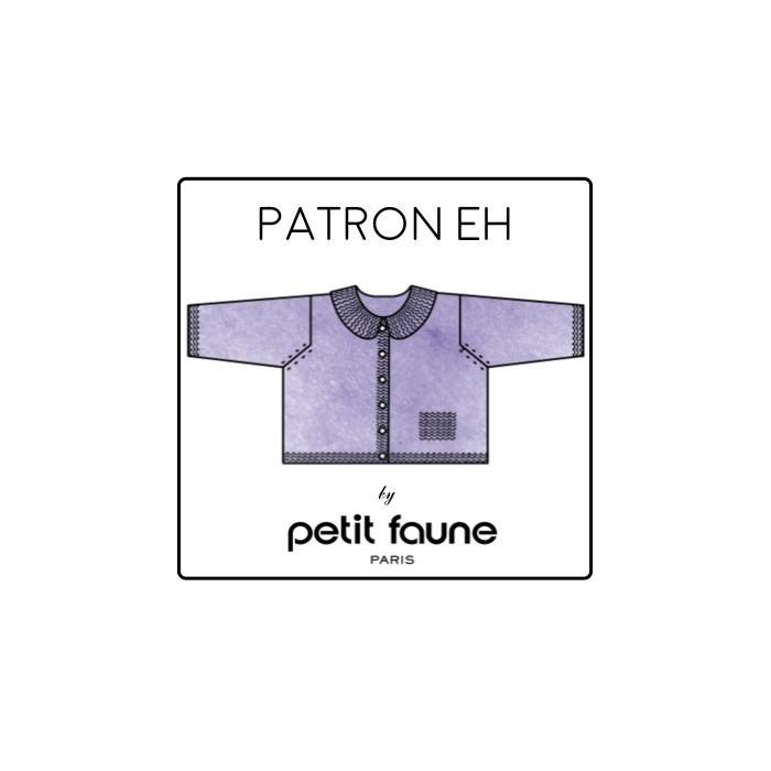 Paletot EH - Patron tricot Petit Faune