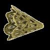Pendentif calotte 20mm bronze