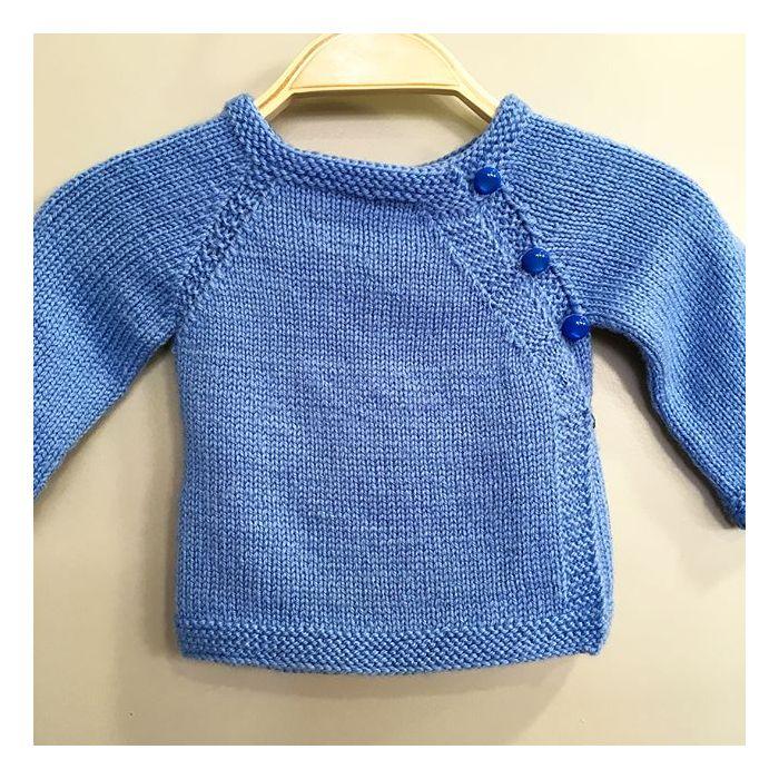 Brassière H : Patron tricot Petit Faune