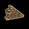 Pendentif calotte 20mm cuivre