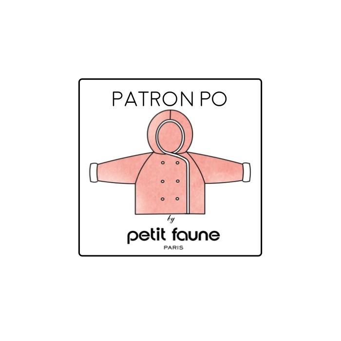 Manteau Hugo PO : patron tricot Petit Faune