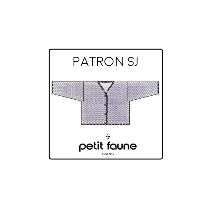 Kit Petit Faune Patron SJ : gilet cygne