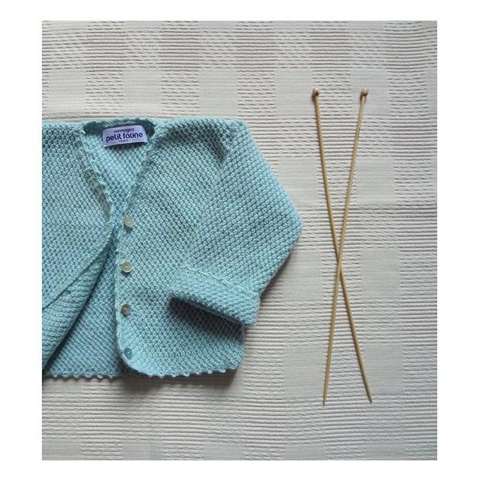 Gilet cygne SJ : patron tricot Petit Faune