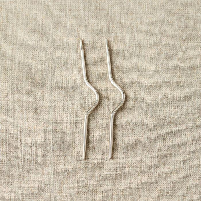 Mini aiguilles à torsades métal 2,5 mm  - CocoKnits