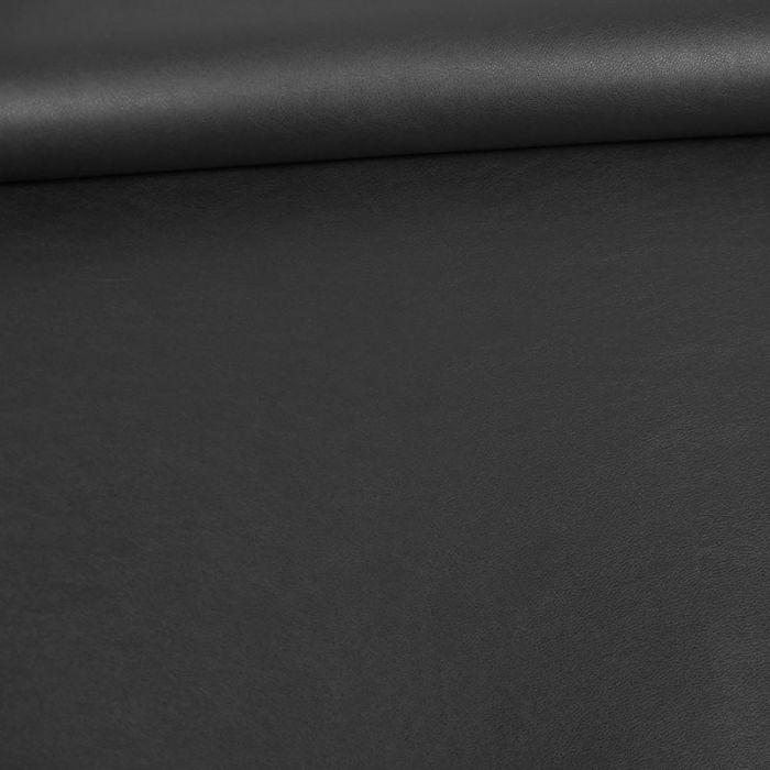 Tissu simili cuir souple - navy x 10 cm
