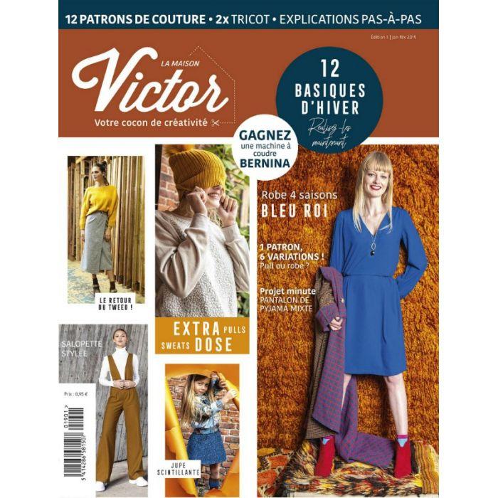 Magazine janvier-fevrier 2019 La Maison Victor