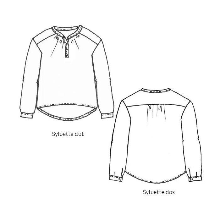 Blouse Sylvette - Cousette Patterns