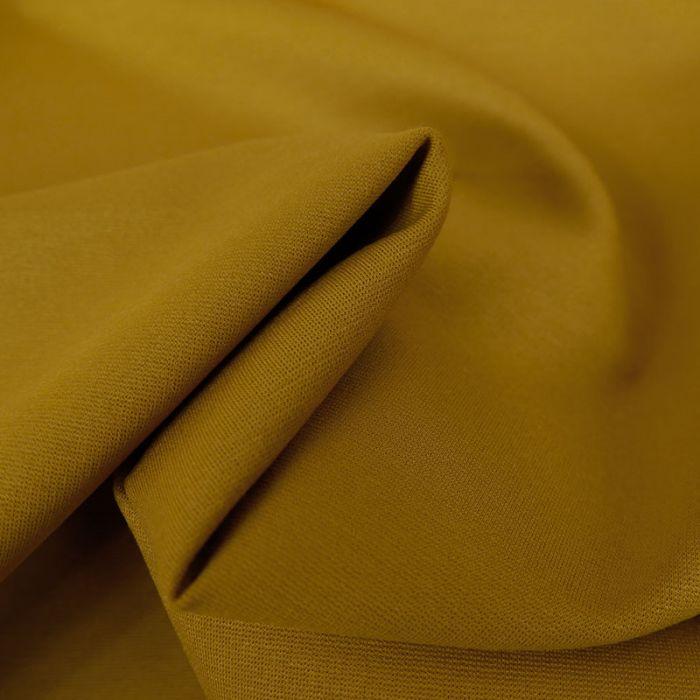 Tissu jersey punto lourd viscose - ocre x 10 cm