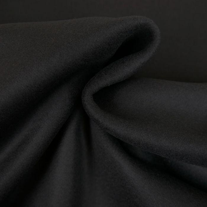 Tissu lainage manteau - gris x 10 cm