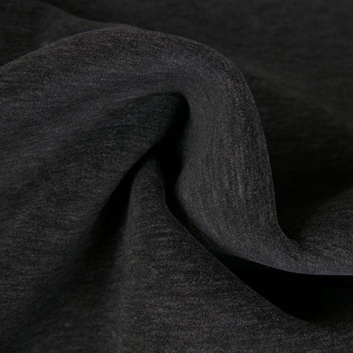 Tissu néoprène haute couture - gris x 10 cm