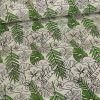 Tissu jersey magique photosensible - flamingo x 10 cm