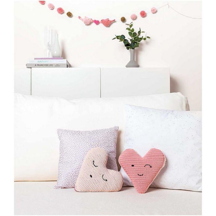 Kit crochet amigurumi Ricorumi - grands cœurs