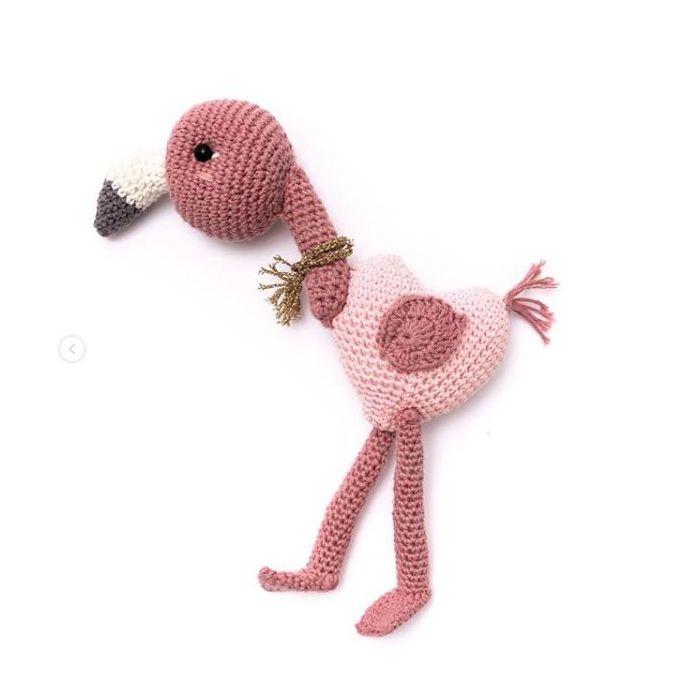 Kit crochet amigurumi Ricorumi - flamant rose