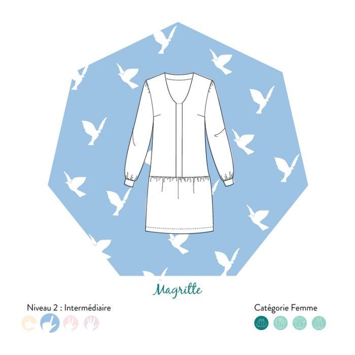 Robe Magritte - Les patronnes