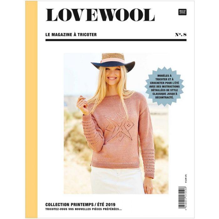 Lovewool n°8 le magazine à tricoter - Rico Design