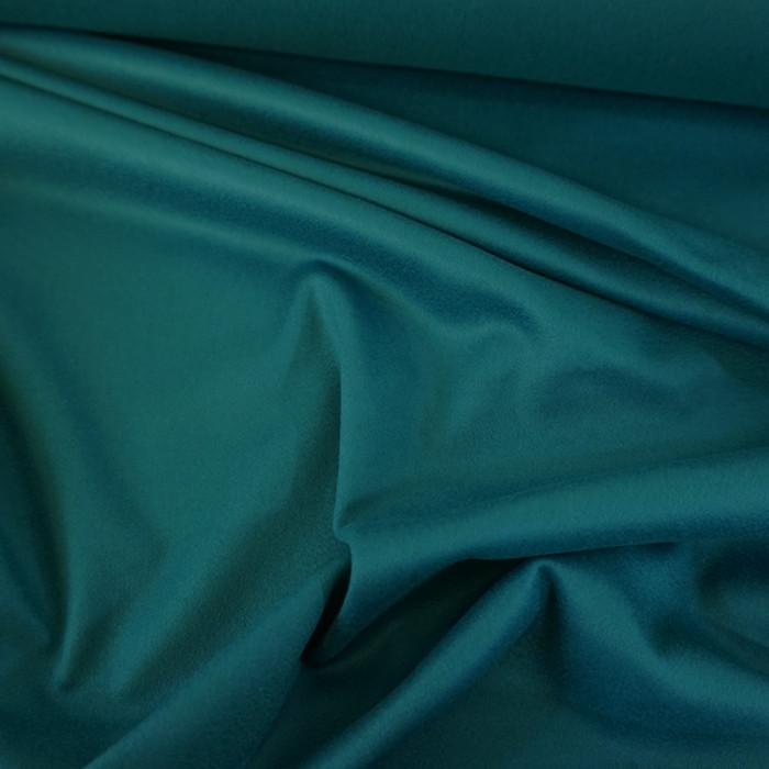 Coupon x 1,10 m - Tissu laine cachemire canard