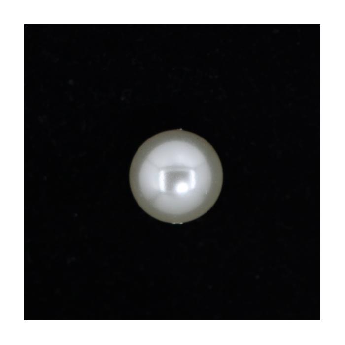 Perle nacrée ronde 16mm gris perle x1
