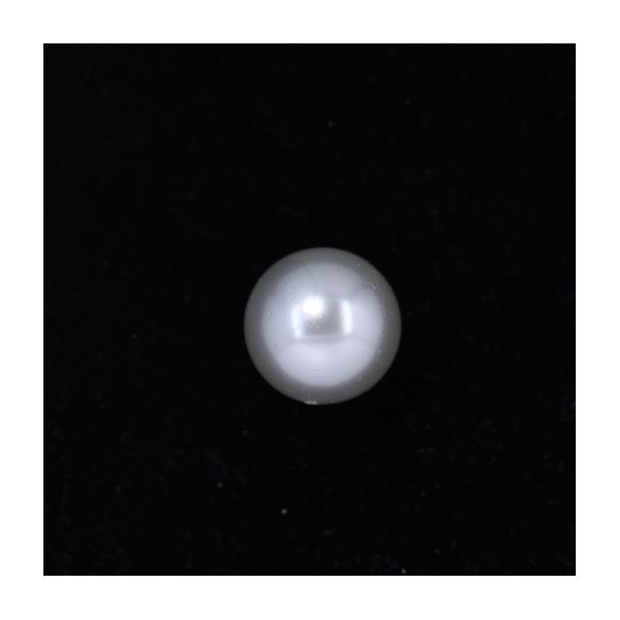 Perle nacrée ronde 16mm écru x1