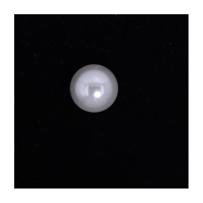 Perle nacrée ronde 14mm blanc x1