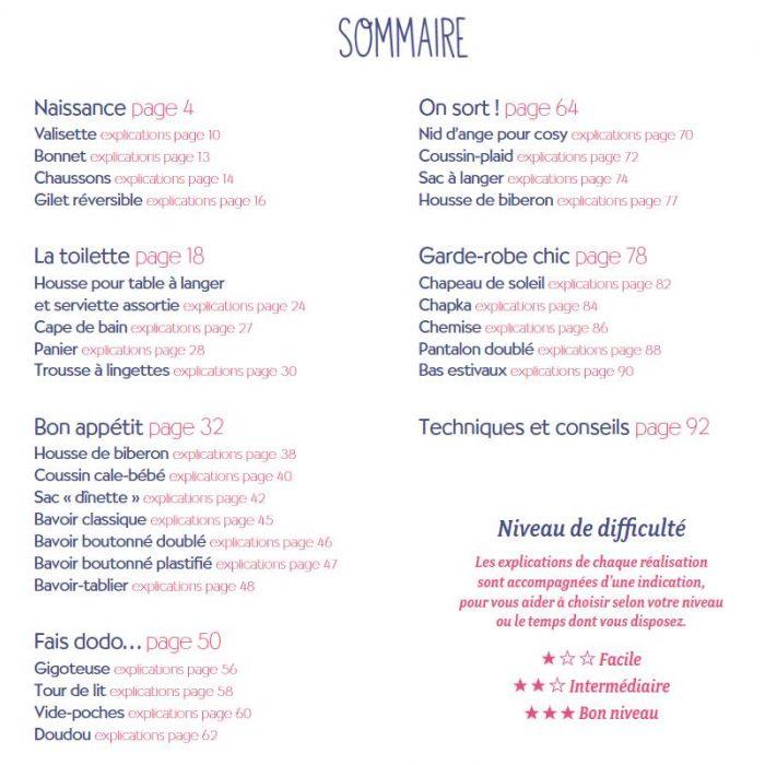 Objets-couture pour bébé / Sylvie Blondeau