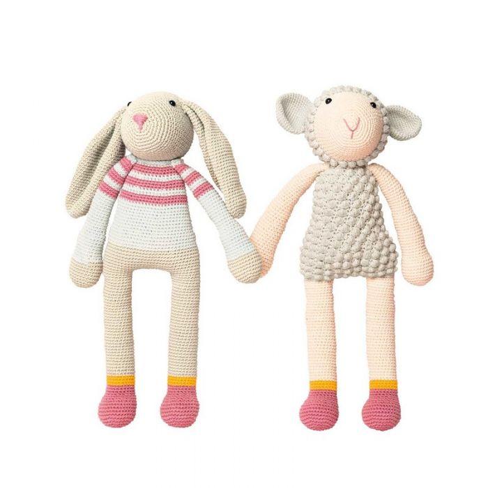 Kit crochet amigurumi Ricorumi - agneau