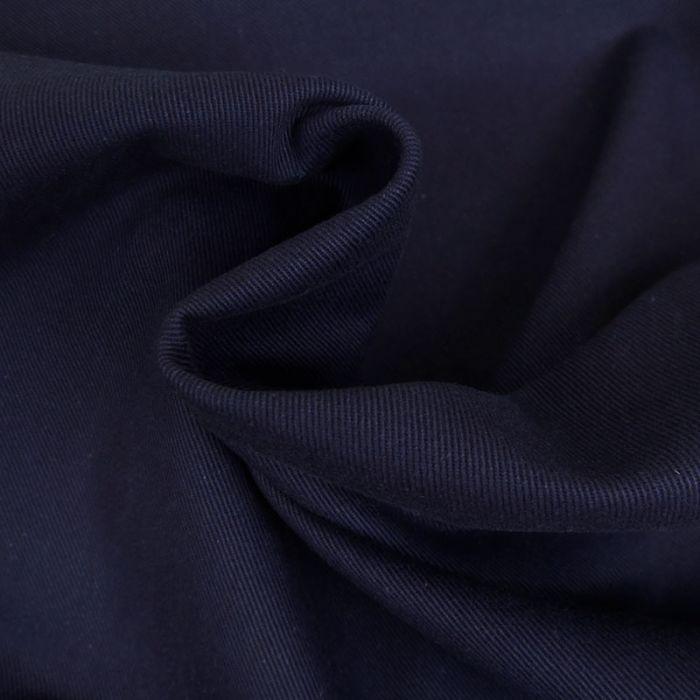 Tissu denim - marine x 10 cm