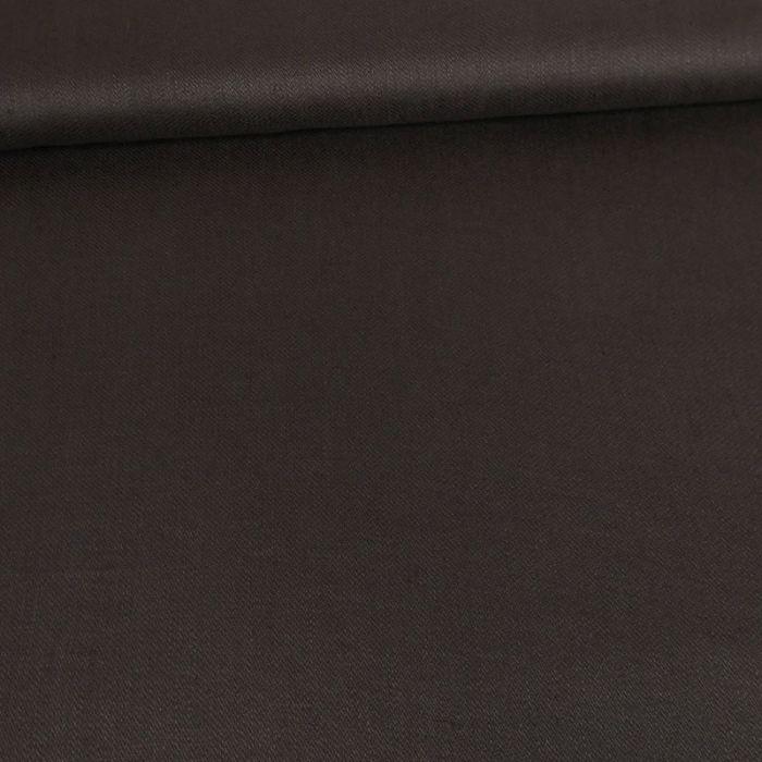 Tissu lin - marron glacé x 10 cm