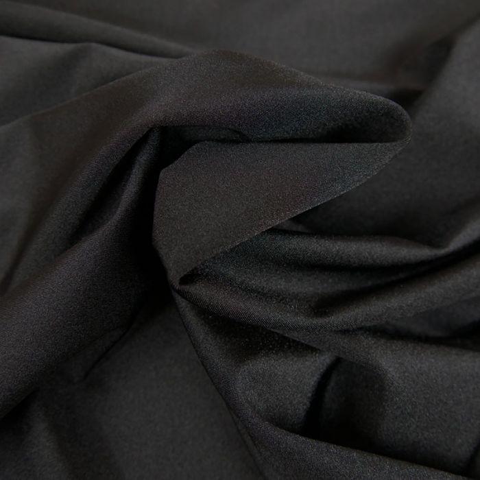 Tissu lycra maillot de bain - noir x 10 cm