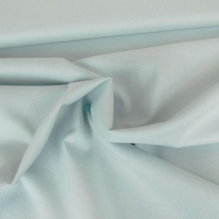 Tissu coton uni - bleu ciel x 10 cm