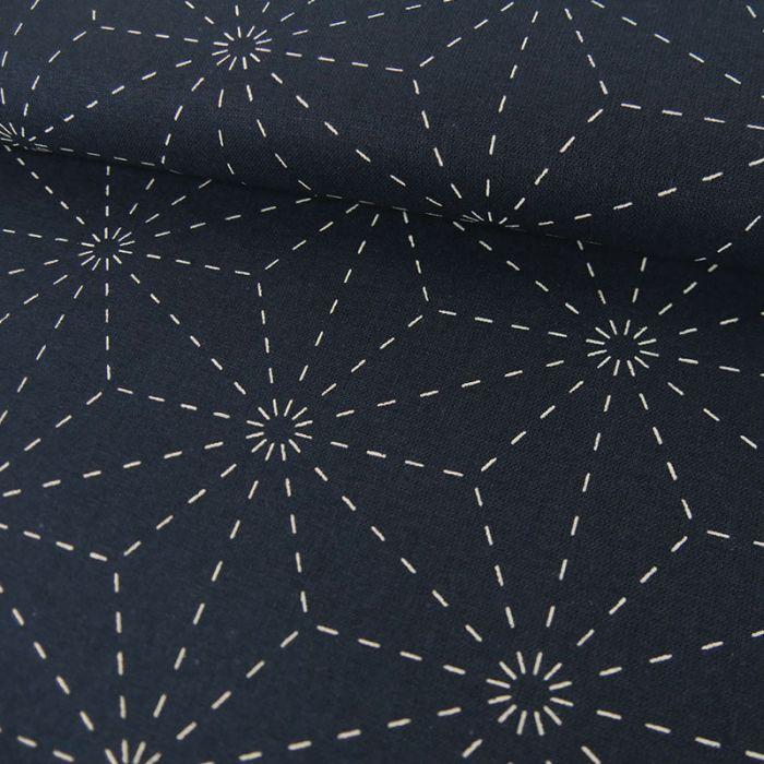 b70f32b0cd Tissu broderie japonaise Sashiko - Rico Design