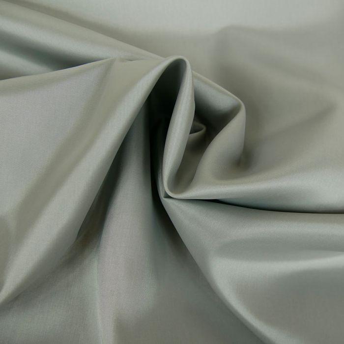 Tissu doublure acétate satin - gris perle x 10 cm